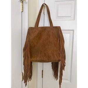 Forever 21 - Cognac Fringe Bag